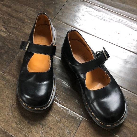 VINTAGE DR MARTENS Mary Janes | Made In England